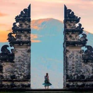 adi ubud tour - Lempuyang Temple - gate of heaven - trekking to Lempuyang hill - best activity