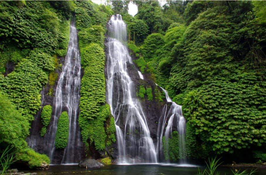 bali tour package - adi ubud tour - banyumala waterfalls bali-jungle trekking