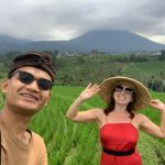 Walking on the rice field - best shoot
